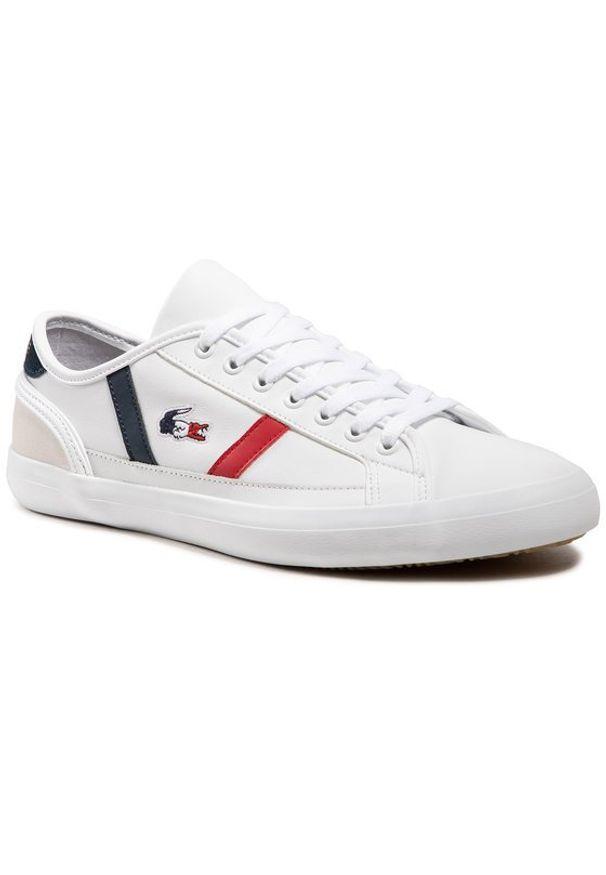 Lacoste Sneakersy Sideline Tri2 Cma 7-39CMA0052407 Biały. Kolor: biały