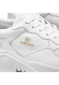 Białe sneakersy Aigner