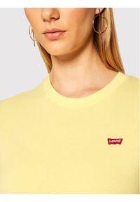 Levi's® T-Shirt Perfect Tee 39185-0103 Żółty Regular Fit. Kolor: żółty