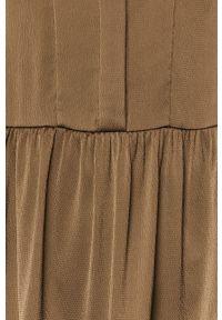 Samsoe & Samsoe - Samsoe Samsoe - Sukienka Margo. Kolor: zielony. Materiał: materiał. Długość rękawa: długi rękaw #2