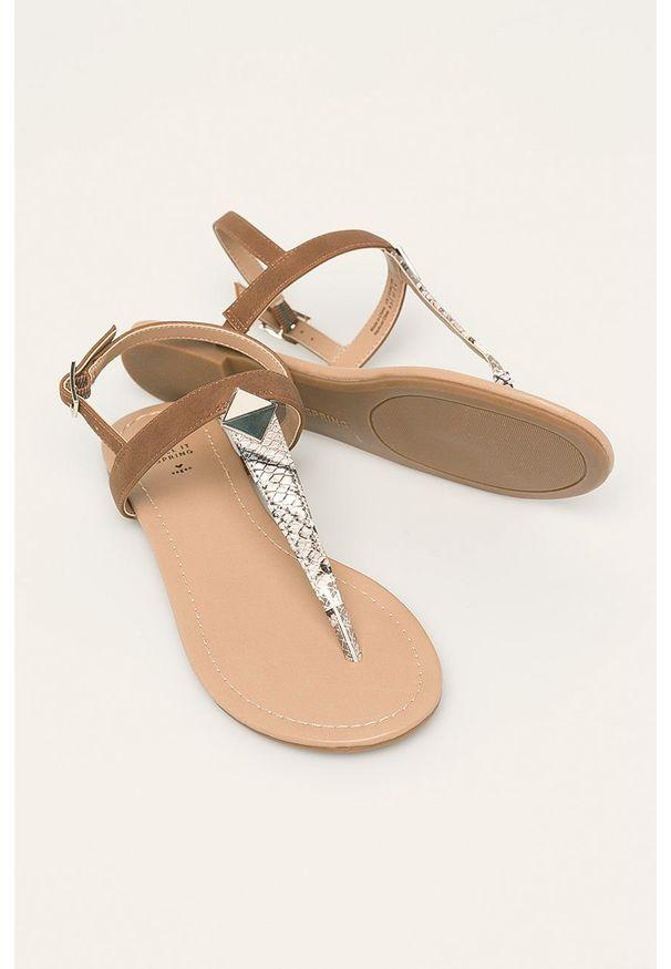 Brązowe sandały Call It Spring na klamry