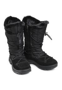 Czarne śniegowce CMP
