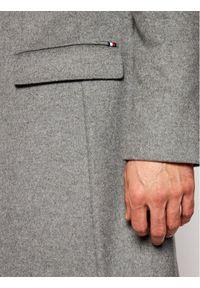 Szary płaszcz przejściowy TOMMY HILFIGER