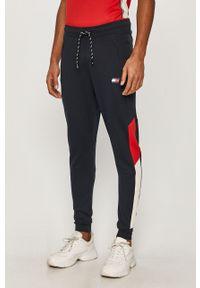 Niebieskie spodnie dresowe Tommy Sport z aplikacjami