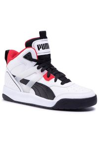 Puma Sneakersy Backcourt Mid Jr 374411 01 Biały. Kolor: biały