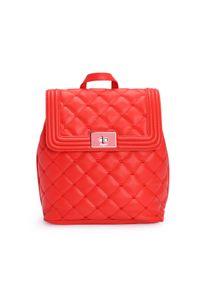 Srebrna walizka Blugirl by Blumarine w kolorowe wzory