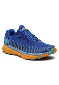 Niebieskie buty do biegania Hoka One One
