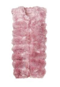 Różowa kamizelka futrzana Born2be