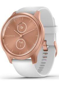 GARMIN - Zegarek sportowy Garmin Vivomove Style Biały (010-02240-20). Kolor: biały. Styl: sportowy
