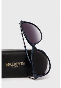 Balmain - Okulary przeciwsłoneczne BL2085B.03. Kolor: czarny