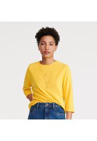 Żółty t-shirt Reserved
