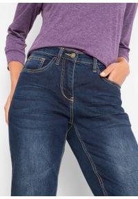 """Wygodne dżinsy """"multi-stretch"""" bonprix ciemnoniebieski. Kolor: niebieski"""