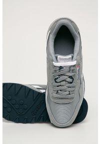 Reebok Classic - Buty Classic Nylon. Nosek buta: okrągły. Zapięcie: sznurówki. Kolor: szary. Materiał: nylon. Model: Reebok Nylon, Reebok Classic