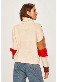 Kremowy sweter ANSWEAR z golfem #5