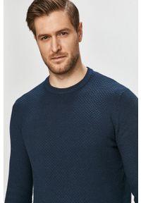 Only & Sons - Sweter. Okazja: na co dzień. Kolor: niebieski. Materiał: dzianina. Styl: casual #3