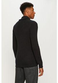 Niebieski sweter rozpinany PRODUKT by Jack & Jones na co dzień, casualowy #5