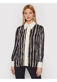 Elisabetta Franchi Koszula CA-292-16E2-V320 Czarny Regular Fit. Kolor: czarny