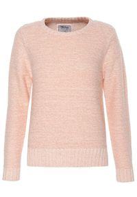 Różowy sweter TROLL na co dzień, z długim rękawem