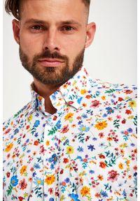 Emanuel Berg - KOSZULA EMANUEL BERG. Materiał: bawełna, tkanina. Wzór: kolorowy, kwiaty, gładki, nadruk. Sezon: lato