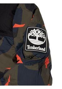Timberland Kurtka puchowa T26519 D Zielony Regular Fit. Kolor: zielony. Materiał: puch