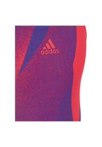 Adidas - Strój do pływania dla dzieci adidas Girls Graphic GE2068. Materiał: nylon, materiał, elastan. Wzór: kolorowy
