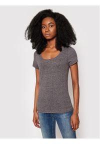 Tommy Jeans T-Shirt Original DW0DW04435 Szary Regular Fit. Kolor: szary