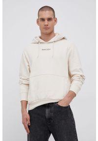 Premium by Jack&Jones - Bluza bawełniana. Okazja: na co dzień. Kolor: beżowy. Materiał: bawełna. Styl: casual