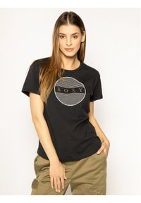 Czarny t-shirt Roxy