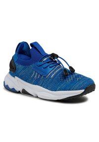 Bartek - Sneakersy BARTEK - 18539006 Niebieski. Okazja: na uczelnię, na spacer. Kolor: niebieski. Materiał: materiał. Szerokość cholewki: normalna