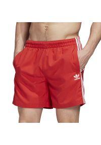 Spodenki sportowe Adidas na lato, w paski, do pływania