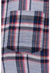 Tom Tailor - Koszula bawełniana. Okazja: na co dzień. Kolor: niebieski. Materiał: bawełna. Długość rękawa: krótki rękaw. Długość: krótkie. Styl: casual