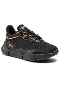 Big-Star - Sneakersy BIG STAR - HH174283 Black/Dark Grey. Okazja: na co dzień. Kolor: czarny. Materiał: skóra, materiał. Szerokość cholewki: normalna. Styl: elegancki, sportowy, casual