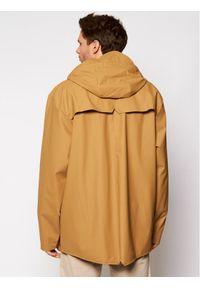 Rains Kurtka przeciwdeszczowa Unisex 1201 Brązowy Casual Fit. Okazja: na co dzień. Kolor: brązowy. Styl: casual