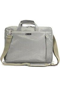 Szara torba na laptopa Platinet