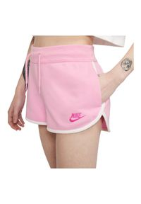 Spodenki damskie Nike Sportswear AR2414. Materiał: bawełna, materiał, poliester