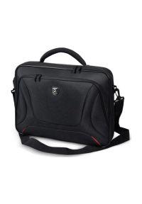 Czarna torba na laptopa PORT DESIGNS elegancka