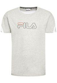 Fila T-Shirt Loe Tee 683095 Szary Regular Fit. Kolor: szary