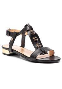 Czarne sandały Baldaccini na co dzień, casualowe