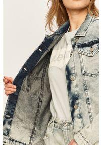 Brave Soul - Kurtka jeansowa. Okazja: na co dzień. Kolor: niebieski. Materiał: jeans. Styl: casual
