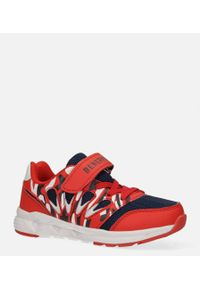 Casu - czerwone buty sportowe na rzep casu 20p8/m. Zapięcie: rzepy. Kolor: czerwony