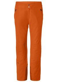 KJUS Spodnie męskie Formula orange