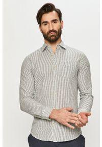 Premium by Jack&Jones - Koszula bawełniana. Kolor: biały. Materiał: bawełna