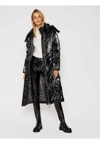 Czarny płaszcz zimowy Rage Age
