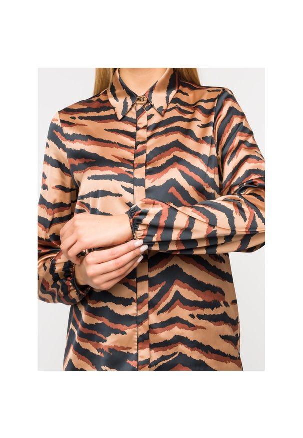 Brązowa koszula Liu Jo