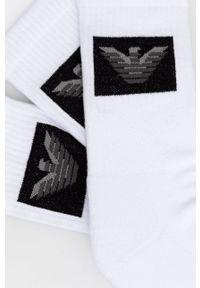 Emporio Armani Underwear - Skarpetki (3-Pack). Kolor: biały