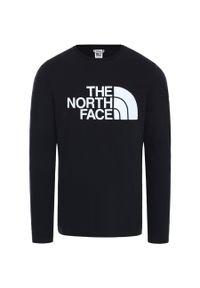 Czarna koszulka sportowa The North Face długa, z długim rękawem