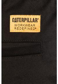 Czarne spodnie CATerpillar casualowe, na co dzień