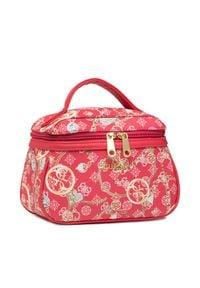 Guess Kosmetyczka Milene Accessories PWMILE P1361 Różowy. Kolor: różowy