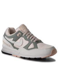 Beżowe półbuty Nike z cholewką