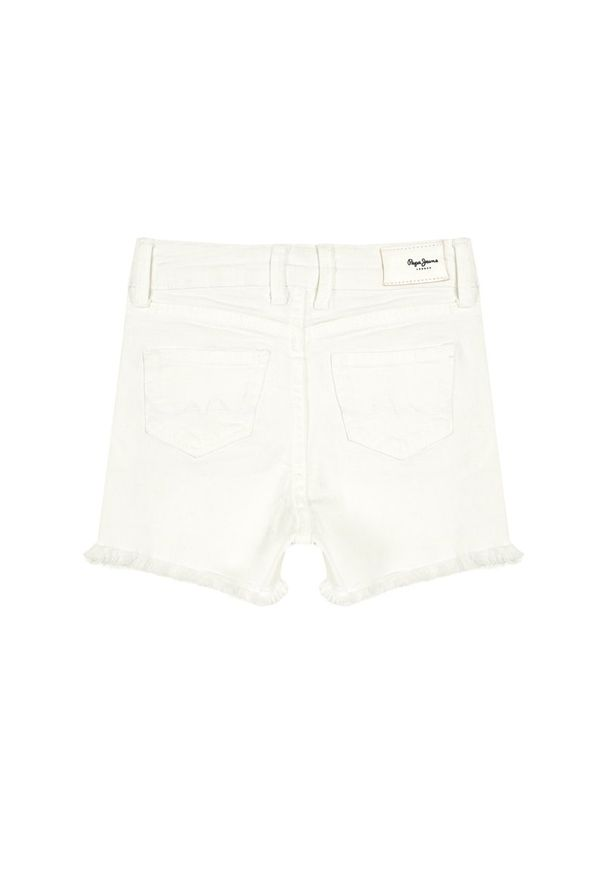 Białe spodenki Pepe Jeans
